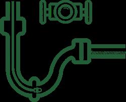 cctv drain camera icon green